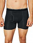 Hanes  3-Pack Men's TAGLESS Ultimate Pima Cotton Boxer Brief $5.69