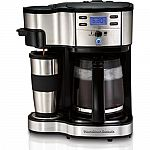 Hamilton Beach 49980A Two Way Brewer 12-cup Coffee Maker $44