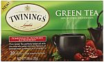 6-Pack Twinings  Pomegranate/Raspberry and Strawberry Green Tea 20 Count $3.79