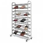 50-Pair 6060-3510 Chrome Supreme Floor Shoe Tower $39.98
