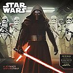 Star Wars Episode VII 2016 Wall Calendar $3.74