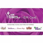 $25 1 800 Flowers Gift Card $20, $50 Michaels GC $40, and more