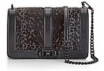 Rebecca Minkoff Love Crossbody (Grey Leopard) $134