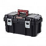 "Craftsman Tool Box w/ Tray (Black/Red): 22"" $13, 19"" $10 or 16"" $8"