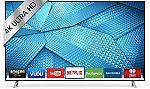 "43"" VIZIO M43-C1 4K UHD Smart LED HDTV (Refurbished) $350"