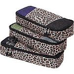 eBags Slim Packing Cubes, 3pc Set $10