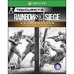 Tom Clancy's Rainbow Six: Siege Gold Edition $40