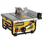 "DeWalt DW7480 10"" Compact Job-Site Table Saw $289"