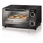 Sunbeam 4-Slice Toaster Oven $17
