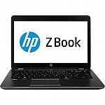 """HP Zbook 14-G1 14"""" Laptop (Core i7-4600U 8GB 750GB W8Pro/W7Pro) $620"""