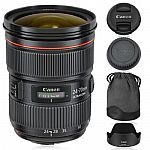 Canon EF 24-70mm f/2.8L II USM Lens 517B002 $1449, Canon EF 70-200mm f/2.8L II IS USM Lens $1599