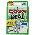 Monopoly Deal Card Game $4.49