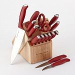 KitchenAid Cook's Series 16-pc. Cutlery Set $28, and more