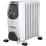 Pelonis Digital Oil Filled Heater $35, Pelonis Small Radiant Heater $25