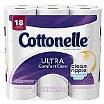 Cottonelle Ultra Comfort Care Bathroom Tissue, 18CT $7 + Free Shipping