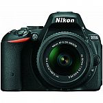 Nikon D5500 24.2MP DX-format DSLR Camera with 18-55mm VR II Lens (Manufacturer refurbished) $499