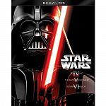 Star Wars Trilogy: Episodes IV-VI [6 Discs] [Blu-ray/DVD] $32
