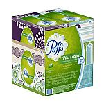 6 Boxes Puffs Plus Lotion Facial Tissues (124 Tissues per Box) $6.89