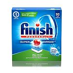 Finish 90-count Powerball Dishwasher Detergent Tablets, Fresh Scent $9.61