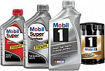 Up to $15 rebate with Mobil 1 synthetic motor oil purchase
