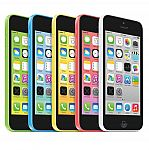 Apple iPhone 5c 16GB Factory Unlocked GSM 4G LTE iOS Smartphone (Refurbished) $105