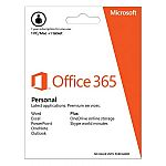Microsoft Office 365 Personal 1-Year $21