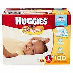 Huggies diapers Super Pack $16.62 (Target subscription)