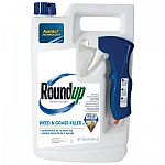 Roundup 1 gal. Ready-to-Use Plus Weed and Grass Killer (Case of 4) $12