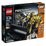 LEGO Technic VOLVO L350F Wheel Load $200, Mercedes-Benz Arocs $184