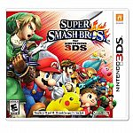 Super Smash Bros, Pokemon Ruby or Sapphire (3DS) $25