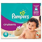 $55 Target Gift Card with Purchase of 6-Pack Pampers Super Pack and small filler