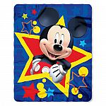 Disney Character 40x50 Fleece Throw $5