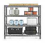 "Gladiator 77"" 4 Shelf Tool-Free Rack 8000 LB Capacity $130"