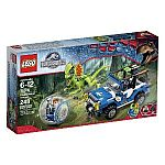 LEGO Jurassic World Dilophosaurus Ambush 75916 Building Kit $21