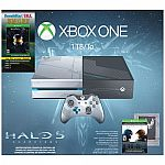Xbox One 1TB Console - The Master Chief Collection & Halo 5: Guardians Bundle $350