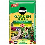 Miracle-Gro 1-cu ft Flower and Vegetable Garden Soil $2/bag, Premium 2-cu ft. Hardwood Mulch $2/bag