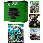 Microsoft Certified Xbox One 500GB Gaming Console w/Kinect - 4 GAME BUNDLE $269