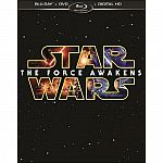 Star Wars: The Force Awakens (Blu-ray/DVD/Digital HD) $17