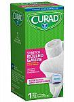 """Curad Rolled Gauze (4"""" x 4.1 Yards) $0.95"""