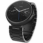 Motorola Moto 360 Smartwatch Stainless Steel Band $100