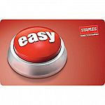 $100 Staples Easy Button Gift Card $85