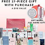 10% off Beauty + Free 30-pc Gift w/ $130 purchase + Free 9-pc Gift & 1 Full size with Estee Lauder purchase