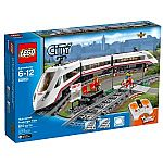 LEGO City Trains High-speed Passenger Train 60051 Building Toy $103