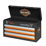 Craftsman Harley-Davidson 3 Drawer Portable Tool Chest $40
