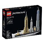 LEGO Architecture New York City 21028 $45.83