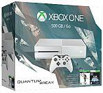 Xbox One 500GB White Console, Special Edition Quantum Break Bundle $229