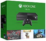 Xbox One 1TB Console - 3 Games Bundle (GOW, Rare Replay, Ori) $315, and more