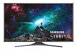 "Samsung UN55JS7000 55"" 4K Ultra HD Smart LED TV Refurbished $600"