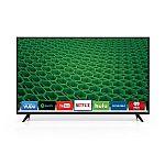 """Vizio D55-D2 55"""" 1080p Smart HDTV + $200 GC $550"""