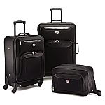 American Tourister 3pc Spinner Sets $60,  4pc Spinner Sets $75
